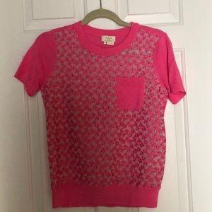 Kate spade New York Shirt Sleeve sweater, Med